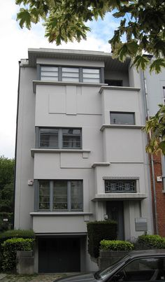 All sizes | Modernist town house, Brussels | Flickr - Photo Sharing!