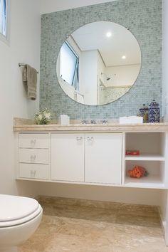 O uso de espelhos na decoração do banheiro - Decor Assentos