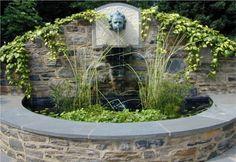 custom wall fountain