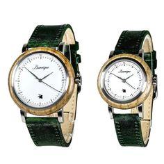 Drevené hodinky pre páry so Zľavou a s dopravou ZDARMA – waidzeit.sk Watches, Leather, Accessories, Fashion, Moda, Wristwatches, Fashion Styles, Clocks, Fashion Illustrations
