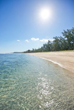 Réunion: 'The island is blessed with untamed natural beauty, a stunning lagoon and wonderful, unspoilt beaches.' Mauritius, Rodrigues, Réunion: the Bradt Guide www.bradtguides.com