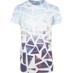 921c6d66 city scape t shirt - Google Search Mens Sale, Island Blue, River Island,