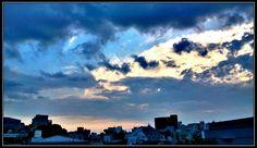 足早に去っていく雲 その先に何かがいる「 #空絵 #SORA_e 」 #photo_by_CANNO #空でつながる (or #Undersky )