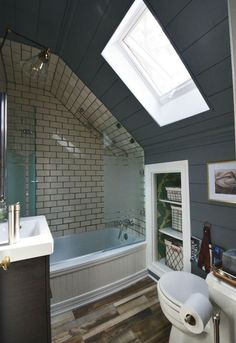 172 Best Attic Bathrooms Images In 2019 Bathroom Small Shower