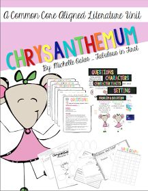 Fabulous in First: Chrysanthemum: A great back to school book!