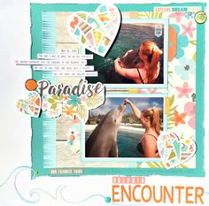 Dolphin+Encounter - Simple Stories - You Are Here Collection