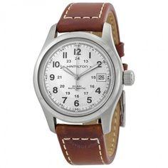 Hamilton Khaki Field Silver Dial Men's Watch H70455553