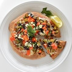 Mediterranean Pizza recipe