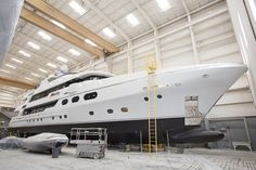 Christensen Ready To Launch 50m SILVER LINING Superyacht
