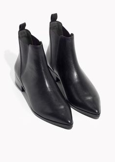 & Other Stories image 2 of Chelsea Boots in Black Leather