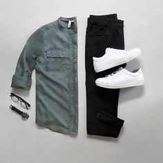 Outfit Ideas For Men: Stylish Mens Clothes That Any Guy Would Love Stylish Mens Outfits, Casual Outfits, Men Casual, Mode Outfits, Fashion Outfits, Fashion Trends, Mode Man, Outfit Grid, Today's Outfit