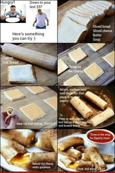 DIY Pizza Rolls Pictures, Photos, and Images for Facebook, Tumblr, Pinterest, and Twitter