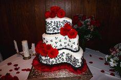 paisley shaped wedding cake photos - Google Search