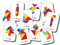La maternelle de Laurène: Modèles tangram