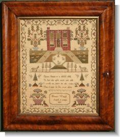 ELEANOR WAUGH 1819 sampler