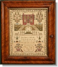 ELEANOR WAUGH 1819 sampler