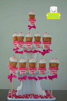 Marshmallow Pops! Love these!!