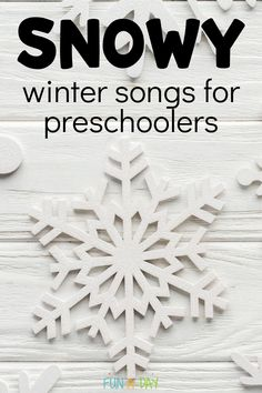 Music is an incredible teaching tool - use these winter songs to get the kids up and moving, even when its cold outside! Find snow songs, snowmen songs, winter animal songs, and more! Movement Preschool, Preschool Music, Winter Songs For Preschool, Winter Activities, Fun Songs, Kids Songs, Snowman Songs, Snow Song, Winter Thema