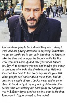 This is why I like Keanu Reeves.