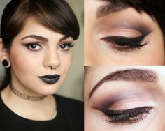 Back Lips Makeup Look http://www.decoturnoespikes.com.br/2014/09/back-lips-makeup-look.html