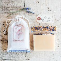 Poppy Soap Co: Organic Handmade Bar Soap, in Lavender Lemongrass #MarthaStewartAmericanMade