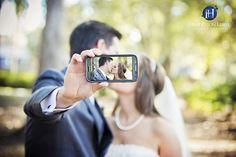 Creative Bride and Groom photo ideas. Charleston, Charlotte, Wedding Photography, wedding selfie, unique wedding pose, Wedding ideas, Wedding Selfie