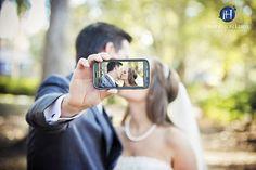 Creative Bride and Groom photo ideas. Charleston, Charlotte, Wedding Photography, wedding selfie, unique wedding pose, Wedding ideas,