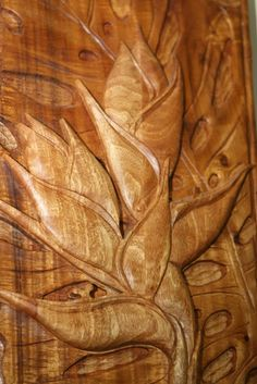 Hawaiian Furniture Co, carved panel Hawaiian Homes, Hawaiian Decor, Wood Sculpture, Sculptures, Tropical Furniture, Hawaiian Designs, Polynesian Culture, Roatan, Tropical Style