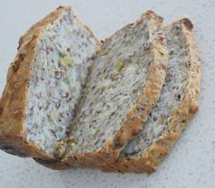 Delush gluten free bread, nice and nutty/seedy and really yummy with soup :)