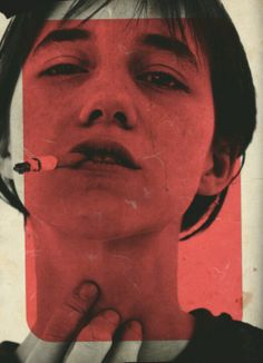 god, another cigarette shot! but there's something about it...  Charlotte Gainsbourg by Jean-Baptiste Mondino
