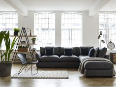 Define your room with an L-shape sofa
