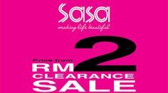 13-18 Sep 2016: Sasa Clearance Sale