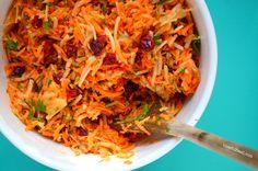 Clean Eats: Carrot + Apple Slaw mmm!