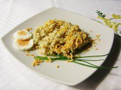 Il risotto mimosa ai carciofi è il primo piatto giusto da preparare per la festa della donna: facile, gustoso, leggero, carino e veloce,