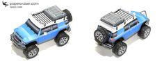 Toyota FJ Cruiser Paper model | papercruiser.com