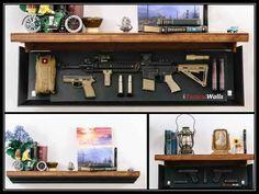 Tactical Walls 1242 RLS Hidden Gun Shelf - http://www.survivalacademy.co/