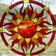 sun stained glass patterns - Google Search