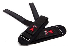 POWER LIFTING STRAPS SUPPORTS Pro GYM Fitness Training Wrist Wraps Pulldown New