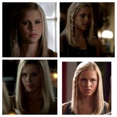 I love Rebekah mikaelson's hair in the vampire diaries
