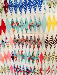 """supersecretpirateparty: """" An amazing quilt made by my mothers great-grandmother. """""""