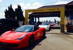 52 Ferrari Meriahkan Event Ferrari Java Rally 2014 - http://www.iotomotif.com/52-ferrari-meriahkan-event-ferrari-java-rally-2014/25547 #Ferrari, #FerrariBaliRally, #FerrariJakarta, #FerrariJavaRally2014, #FOCI