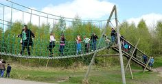 Try out the assault course challenge Assault Course, Days Out With Kids, Conkers, Uk Holidays, Derbyshire, Day Trips, Saving Money, Places To Visit, Challenges