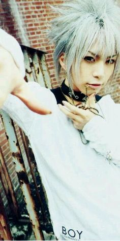 Takeru. SuG. This is almost exactly like a cosplay for Shinichi Okazaki from Nana anime!