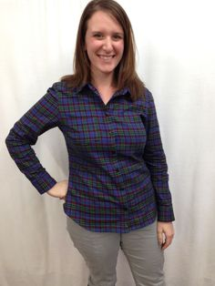 Fabric Mart Fabricistas: Made by a Fabricista: A Tale of Two Flannel Shirts