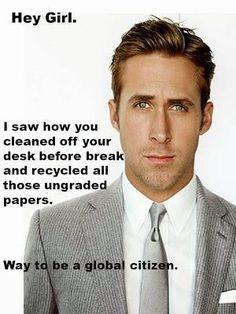 I am a global citizen.