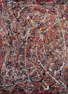 """Untitled"" - Jackson Pollock  Michael could TOTALLY be a painter!"