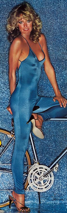 They used to be called unitards, not catsuits back in the day!  Unless you had a figure like Farrah's, it looked bad.