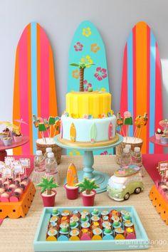 Surf Mais Moana Party, Moana Birthday Party, Hawaiian Birthday, Luau Birthday, 6th Birthday Parties, Aloha Party, Luau Party, Surfer Party, Flamingo Party