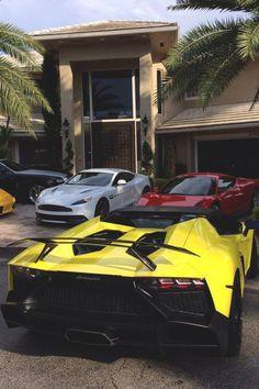 , Ferrari and Aston Martin Maserati, Bugatti, Ferrari, Sexy Autos, Billionaire Lifestyle, Latest Cars, Koenigsegg, Lamborghini Supercar, Car In The World
