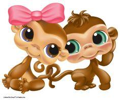 littlest pet shop coloring pages | littlest pet shop monkey coloring pages image search results